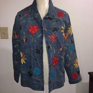 CHICO'S Vintage Jean Jacket